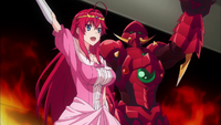 Oppai Dragon and Switch Princess Waving to Fans