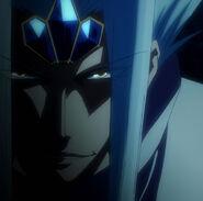 Loki Smiling as His Plan Begins to Take Effect