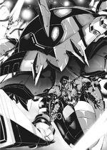 Ise piloting Ryuuteimaru in AxA