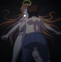 Issei accidentally groping Irina