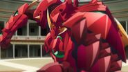 DxD Hero Ep1 - Scale Mail Close-Up