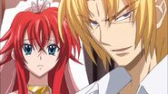 Riser Accepts to fight Issei