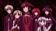 Gremory Team inside the familiar forest