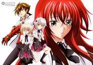 HIGH SCHOOL DXD NEW VISUAL COLLECTION the second volume sheet 01