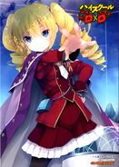 Ravel with crimson uniform