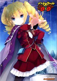 Ravel with crimson uniform