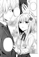 Koneko pleading Yuuto to let them help