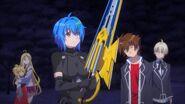 Xenovia holding Ex-Durandal in HERO Episode 5