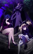 Fallen Angel Trio together