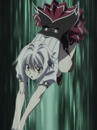 Koneko jumping into action