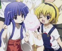 Rika und Satoko