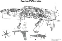 0Cut Kyushu J7W Shinden (1)