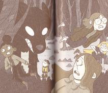 Marra run from the black hound - novelization