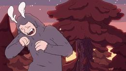 Hilda S01E11 Gigante estornudando