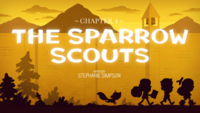 Titlecard S1E4 The Sparrow Scouts