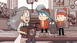 Hilda S01E10 Hilda con meteorologa