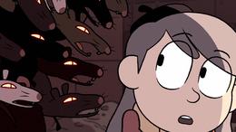 Hilda S01E06 Rey rata hablando con Hilda