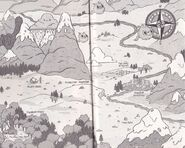 Map wilderness - Hilda and the Hidden People