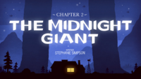 Titlecard S1E2 The Midnight Giant
