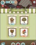 Creatures app plant store