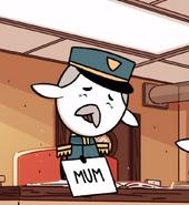 Elf postal worker