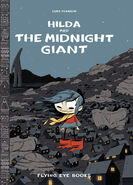 Hilda and the Midnight Giant cover (Nobrow Press)