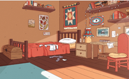 Hilda's house (wilderness) bedroom Hilda
