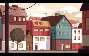 Hilda's house