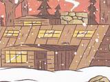 Wood Man's house