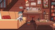 Hilda's house (wilderness) living room