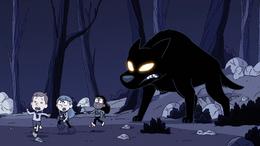 Hilda S01E13 Huyendo del Perro negro