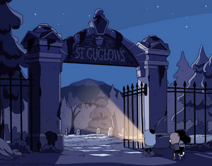 St. Guglows graveyard entrance