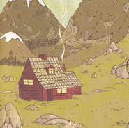 Hilda's house in the wilderness - graphic novels