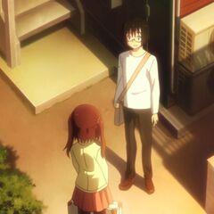 Taihei meets Ebina.