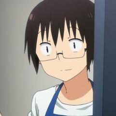 Taihei opening a door