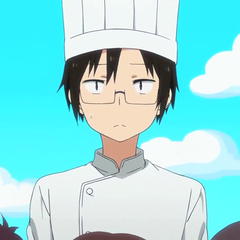 Taihei has dreamt of being a cook