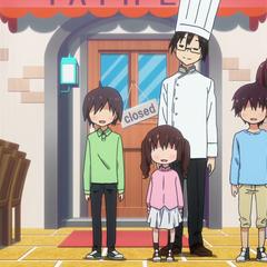 Ebina's dream family with Taihei