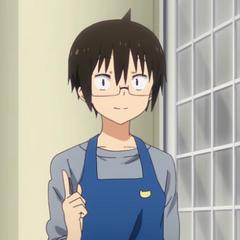 Taihei pointing up
