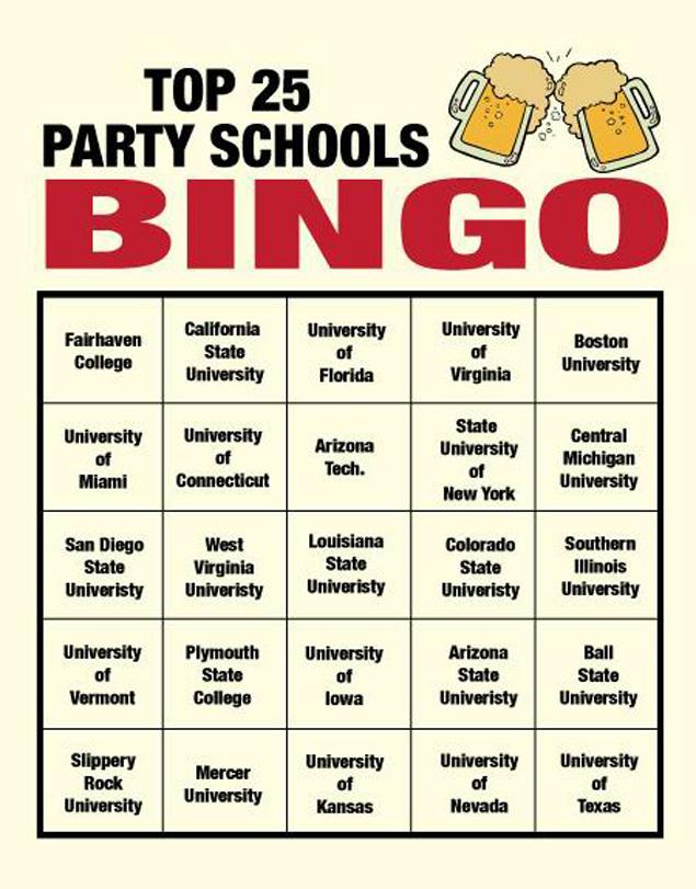 Barneys Blog Bingo