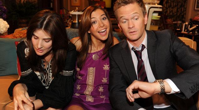 Barney dating Robin
