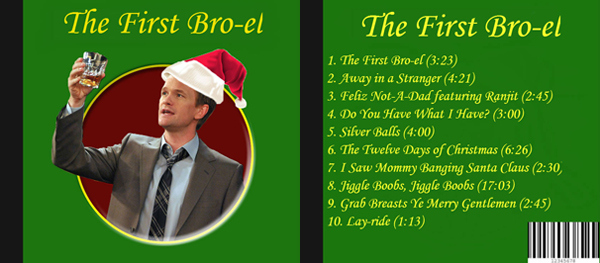 How I Met Your Mother Christmas.Barney S Blog The Twelve Days Of Christmas How I Met Your