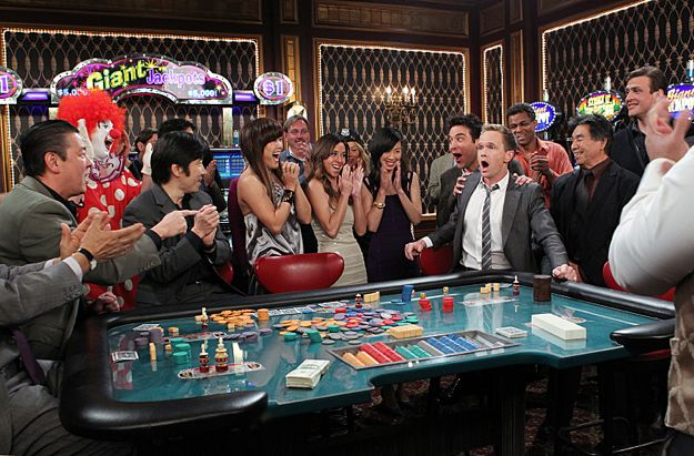 how i met your mother casino game