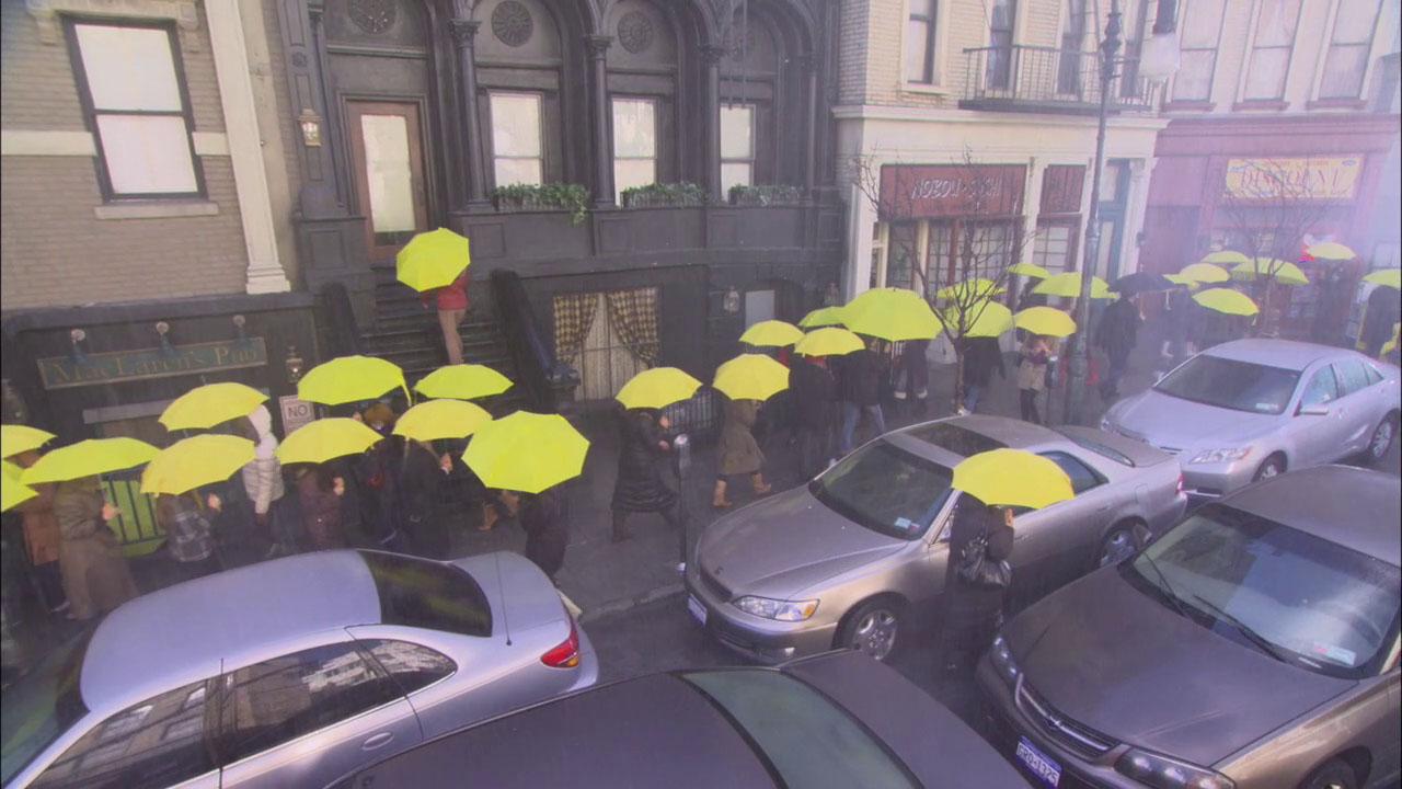 Yellow Umbrella How I Met Your Mother Wiki Fandom