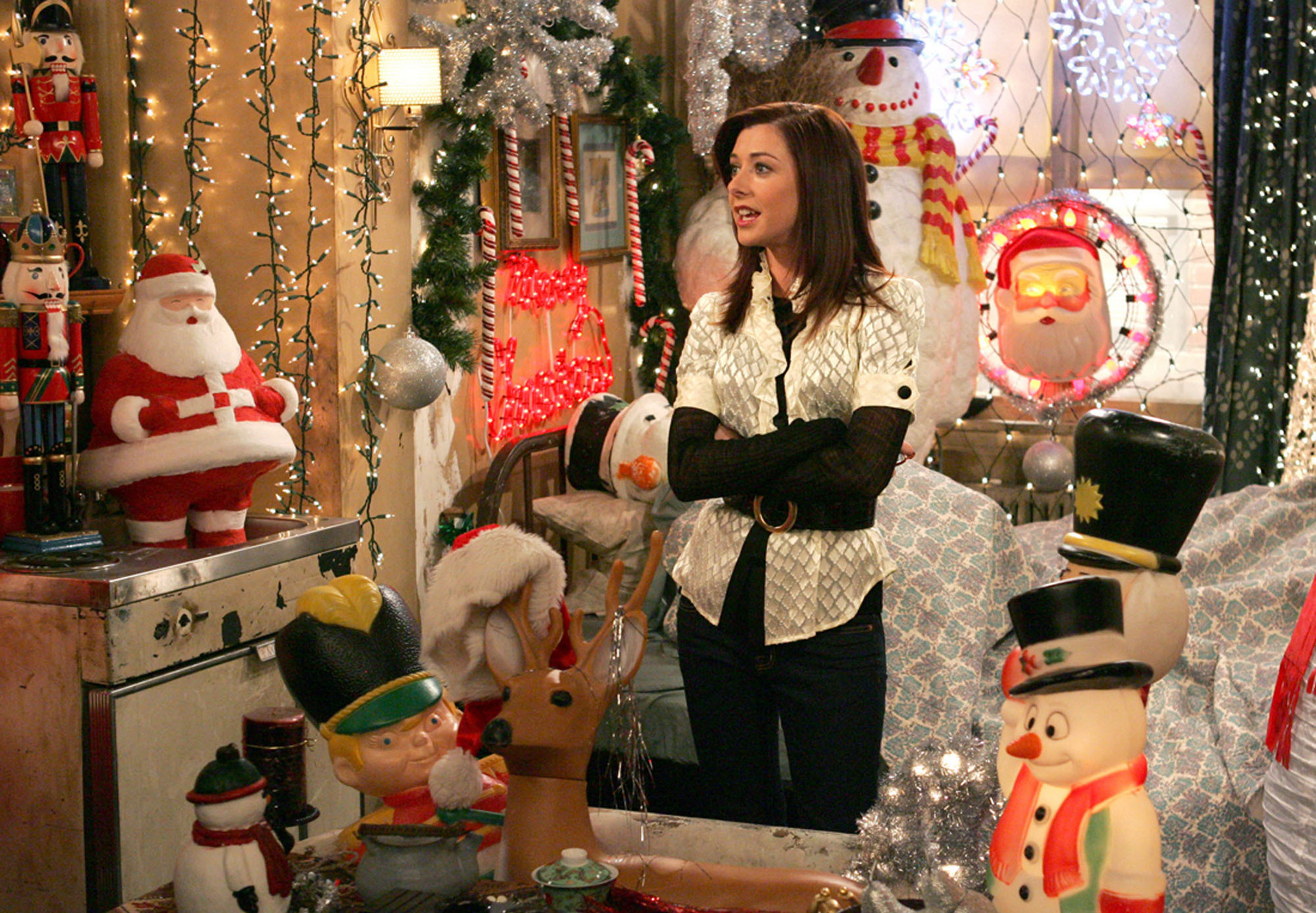How I Met Your Mother Christmas.Lily S Second Apartment How I Met Your Mother Wiki