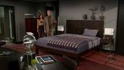 Barney's bedroom