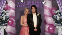 Ted and karen at prom