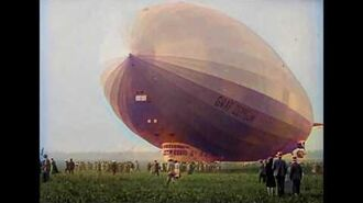 DeOldify Colorization Experiment Flight of the Graf Zeppelin in 1928 HD