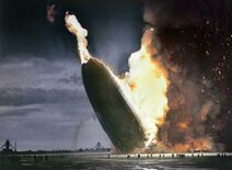 Colorized-Hindenburg-disaster