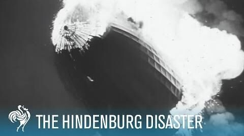 Hindenburg Disaster Real Zeppelin Explosion Footage (1937) British Pathé