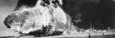 Hindenburg-shell-on-fire